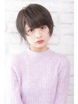 ログヘアー 大塚北口店(L.O.G hair)マッシュ風ショート【大塚/池袋/新大塚】