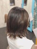 カイナル 関内店(hair design kainalu by kahuna)ドライヴカット×切りっぱなしボブ