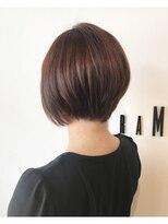 フレイムスヘアデザイン(FRAMES hair design)大人可愛いピンクバイオレット×ショート♪
