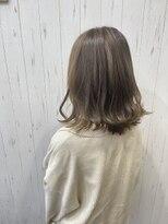 チームボス(Team BOSS)髪質改善&ブルージュカラー
