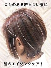 プログレス 龍ヶ崎店(PROGRESS by ヂェムクローバーヘアー)【脱白髪染めカラー】◎透明感のある若々しい髪に♪