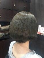 髪の美院 シャルマン ビューティー クリニック(Charmant Beauty Clinic)マットアッシュカラー