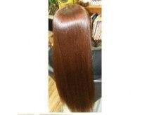 ヘアーパレット(Hair Pallet)の雰囲気(ミネラルストレート&ミネラルカラーのピカピカ艶々の仕上がり)