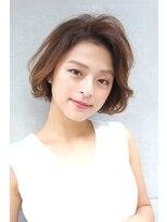 ヘアーメイク リアン 新田辺店(Hair Make REAN)◆REAN 京田辺/新田辺◆アッシュブラウンの大人ボブ