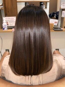 ヴィンクロ 明石大久保(Vinculo)の写真/縮毛矯正を繰り返すと髪がボロボロになる!?それは美容師の知識、技術が低いから。必ず綺麗にします★