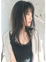 フェス カットアンドカラーズ(FESS cut&colors)『FESS 鶴丸』【明暗ヌードベージュ×簡単スタイリング】