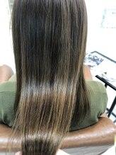 ヘアーリゾート ラ シック(hair resort La chiq)艶々柔らかストレート