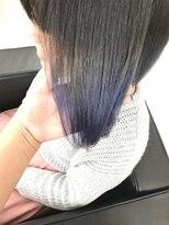 マーメイドヘアー(mermaid hair)シルバーブルーグラデーション