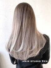 ヘアースタジオ ゼン(hair studio Zen)バレイヤージュデザイン