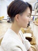モリオフロムロンドン成増3号店【morio成増/ムラマツ】小顔 ハンサムショートボブ 刈り上げ