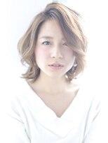 ジーナシンジュク(Zina SHINJYUKU)☆Zina☆大人可愛いソフトベージュミディアム