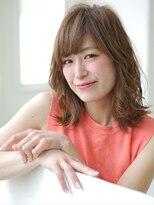 ショコラウメダ(Chocolat UMEDA)ミセス人気No.1☆斜めバンク☆エレガンスミディアム
