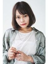 ヘアサロン ガリカ 表参道(hair salon Gallica)『 BOB ×グレージュ』☆ひし型シルエットボブ