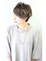 無造作パーマ風クールショート☆★【RENJISHI】