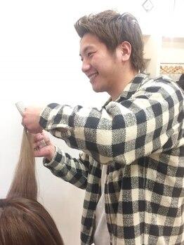 エムズヴァリエ(M's varie)の写真/マンツーマン施術で気になる悩みを解決!!抜群のセンスをもつスタイリストが、あなた至上最高のヘアを創る。