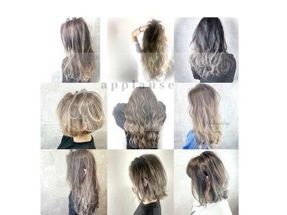 アプローズヘア(applause hair...)の写真