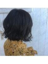 クレーデヘアーズ 相田店(Crede hair's)#切りっぱなし風外ハネボブ