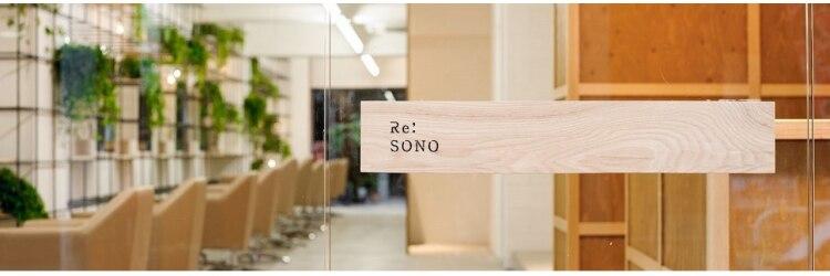 レソノ(Re SONO)のサロンヘッダー