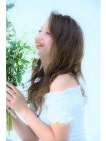 emu☆愛されふんわりロング×透明感×イノセントカラー