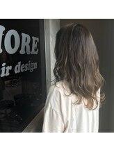 フィオーレ ヘアデザイン(FIORE hair design)透明感のある『大人グラデーションカラー』