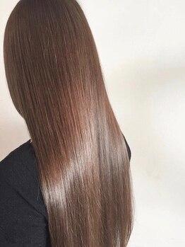 アンドレイ 表参道(andrey)の写真/表参道[7月末移転OPEN!]話題のTOKIOTrを使用♪5StepTrだから髪内部まで深く浸透。長時間ツヤ髪続く♪