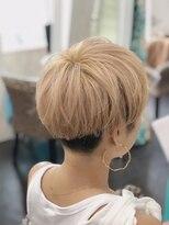 カイナル 関内店(hair design kainalu by kahuna)ドライヴカット×ロイヤルミルクティー