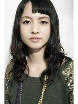ヘアーラウンジ エゴ(Hair Lounge EGO)武蔵新城EGO 似合わせとろみワンカールミディアムヘアでモードに