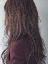 ヘアーデザインキゴウ(hair design kigou)ゆる巻きロングレイヤー
