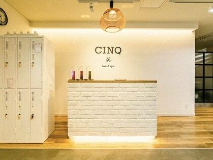サンク ヘア アンド スパ パルシェ店(CINQ hair&spa)の写真