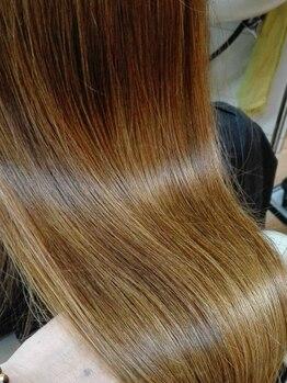 SIN美髪研究所の写真/【髪の病院認定サロン】でのみ扱える、オーダーメイドトリートメント。きらめく理想の美髪を貴女に◎