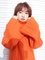 アルバム シンジュク(ALBUM SHINJUKU)波ウェットショート_セミウェットウェーブ_96880