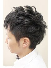 オーブ ヘアアンドメイク(AUBE hair&make)ナチュラルツーブロスタイル