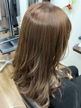 ヘアー サロン ガット(hair salon Gatto)の写真/【城野駅近く】[カット+オーガニックカラー¥6800]通いやすい価格が魅力のプライベートサロン☆白髪染めも◎