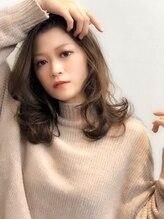 ビス 下曽根店(hair&make Bis!)【Bis!下曽根/担当:石川】ふわふわマカロンベージュ