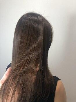 ルーパー LOOPERの写真/カルシウムイオン除去に加え毛髪形状の乱れを整える髪質改善トリートメント♪今までにない効果と持続力を!