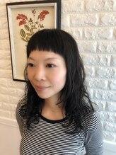 ニジ ヘアメイク(Niji hair:make)【Niji hair:make】スウィングパーマヘアスタイル