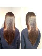 アエル(AER)ネオリシオ縮毛矯正+サプレスアシッド