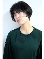 シアン ヘア デザイン(cyan hair design)【美シルエット】小顔ショート