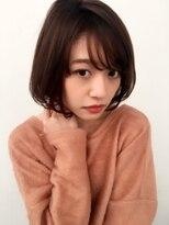 アンアミ オモテサンドウ(Un ami omotesando)【Unami】大人フリンジバング×スポンテニアスマッシュボブ島田