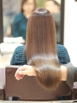 ノンスタイルノンコンセプト 美容室(Nostyle‐Noconcept)の写真/Nostyle‐Noconceptオリジナルレシピのトリートメントで光り輝く艶髪が手に入る。繰り返す度に髪が綺麗に♪