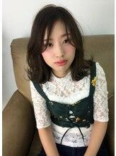 ヘアーモードケーティー 塚本店(Hair Mode KT)◇外ハネセミウェットミディー◇