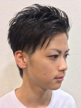 バーバーリンクヘアー(Bar Ber Link Hair)の写真/【極上スパ+Lotionパック+スチームShaving+Cut¥6300】ヘッドスパやフェイシャルパックで頭皮・肌ケアに◎
