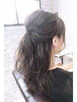 ルルカ ヘアサロン(LuLuca Hair Salon)LuLucaお客様☆スナップ アレンジも時短なパーマスタイル