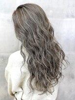 オーブ ヘアー エステラ 長野2号店(AUBE HAIR estela)【AUBE HAIR】グレージュ_ハイライトカラー