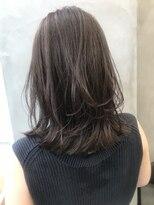 サン 渋谷(SUN)《SUN》美髪ブランジュ小顔ミディアムレイヤーイルミナカラー