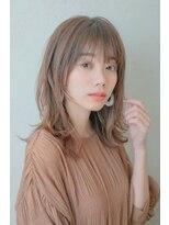 ミンクス 銀座店(MINX)シースルー前髪×大人かわいいハネレイヤー【銀座×30代】