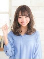オーブ ヘアー トピア 草薙店(AUBE HAIR topia)甘めバングがかわいい♪ゆるふわスタイル