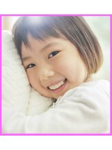 ヘアー リラックス 風香(HAIR RELAX)女の子/前下がりボブ/キッズカット/子供カット/前髪短めカット