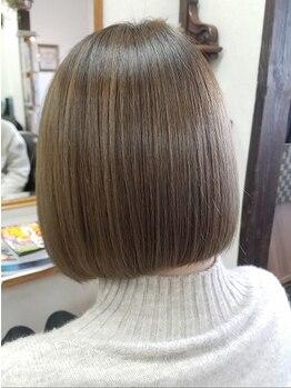 プリーム ヘアー(Pleame hair)の写真/【激トク学生限定オススメクーポン有☆】学生に人気の武田指名でナチュラルに可愛いが叶う♪