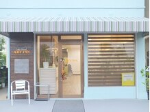ヘアーブランド アートイン(Hair Brand ART INN)の雰囲気(東加古川駅徒歩3分◆カフェのような可愛い外観が目印です)